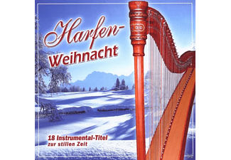 VARIOUS - Harfen Weihnacht  - (CD)