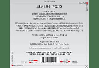 Coro E Orch.Sinfonica Di Roma Della RAI - Wozzeck  - (CD)