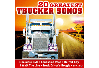 VARIOUS - 20 Greatest Trucker Songs  - (CD)