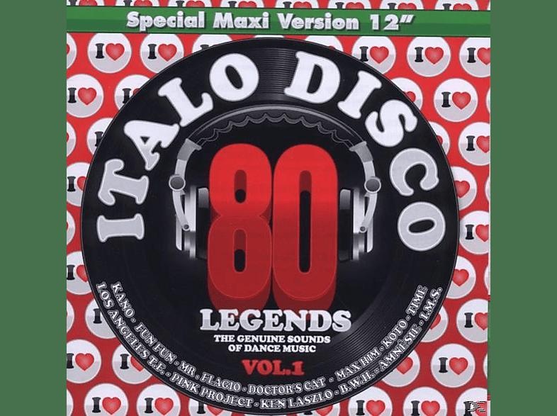 VARIOUS - i love italo disco legends vol.1 [CD]