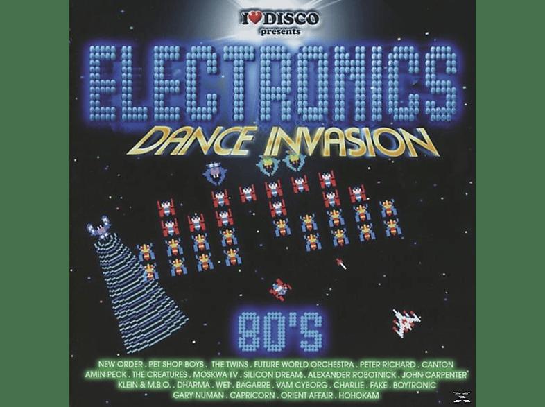 VARIOUS - Electronics Dance Invasion 80's Vol.1 [CD]