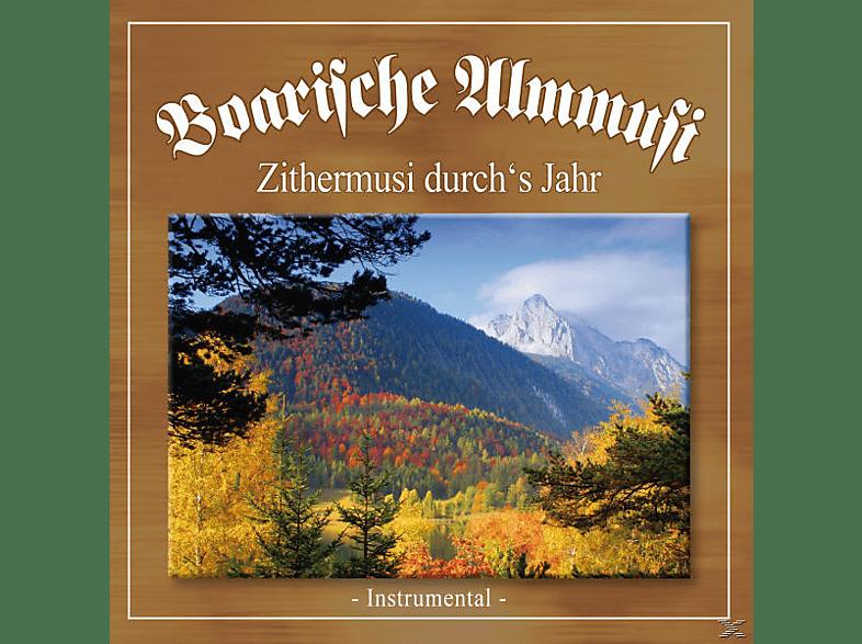 Boarische Almmusi - Zithermusi Durch's Jahr [CD]
