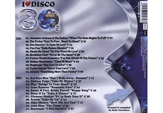 VARIOUS - I Love Disco 80's Vol.1  - (CD)