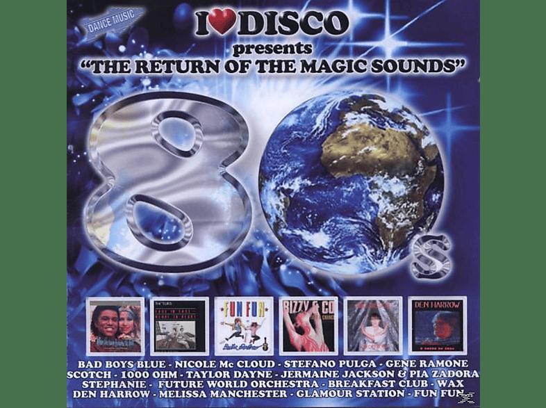 VARIOUS - I Love Disco 80's Vol.1 [CD]