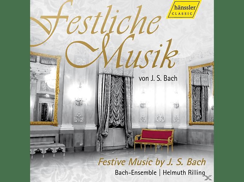 Helmuth/bach-ensemble Rilling - FESTLICHE MUSIC OF J.S. BACH [CD]
