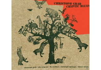 Christoph Grab - CRYPTIC BLUES  - (CD)