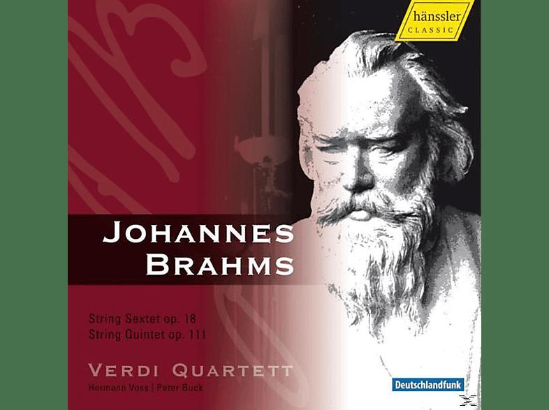 Verdi Quartet - Streichsextett/Streichquintett [CD]