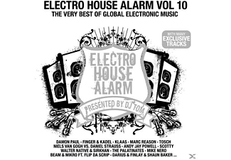 VARIOUS - Electro House Alarm Vol.10  - (CD)
