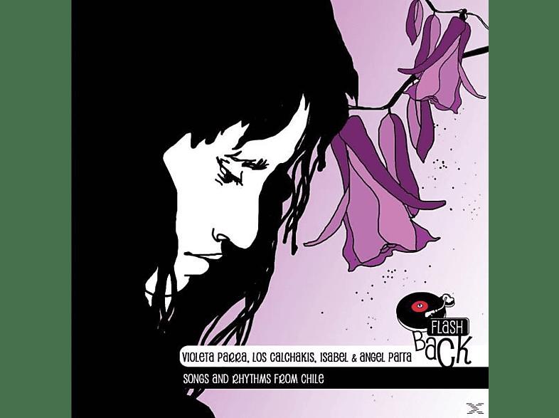 Violeta Parra, Isabel et Angel Parra, Claude Morel, Jean-Pierre Pellissier, Bob Chaubaroux, Los Calchakis - Lieder und Rhythmen aus Chile [CD]