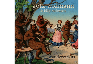 Götz Widmann, Billy Rückwärts - Wanderzirkus  - (CD)