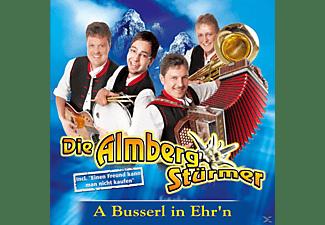 Die Almbergstürmer - A Busserl in Ehr n  - (CD)
