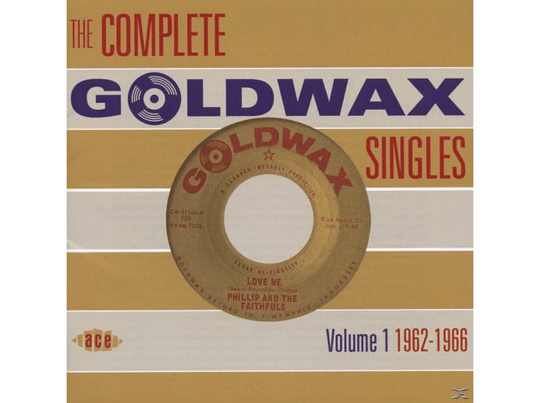 VARIOUS - Complete Goldwax Singles Vol.1 1962-1966 [CD]