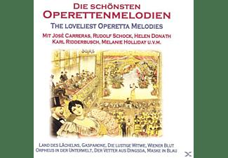 VARIOUS - Die Schönsten Operettenmelodien  - (CD)