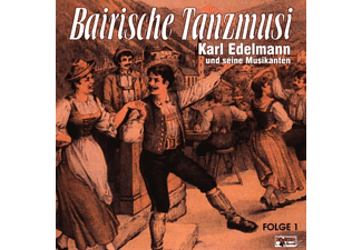 Karl Edelmann - Bairische Tanzmusi 1  - (CD)