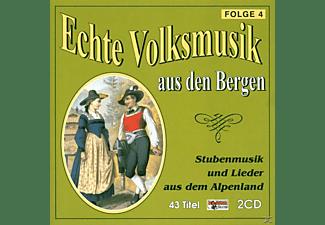 VARIOUS - Echte Volksmusik Aus Den Bergen 4  - (CD)