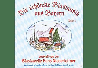 Hans Niederleitner - D.Sch.Blasmusik A.Bayern 1  - (CD)