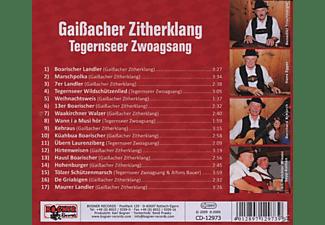 GAISSACHER ZITHERKLANG/TEGERNSEER ZWOAGS - Griabige Zithermusi Aus Dem Isarwinkel  - (CD)