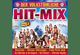 VARIOUS - Der Volkstümliche Hit-mix - Folge 2  - (CD)
