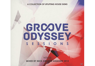 VARIOUS - Groove Odyssey Sessions Vol.1  - (CD)