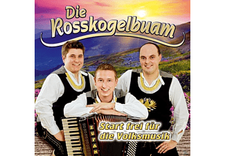 Die Rosskogelbuam - Start frei für die Volksmusik  - (CD)
