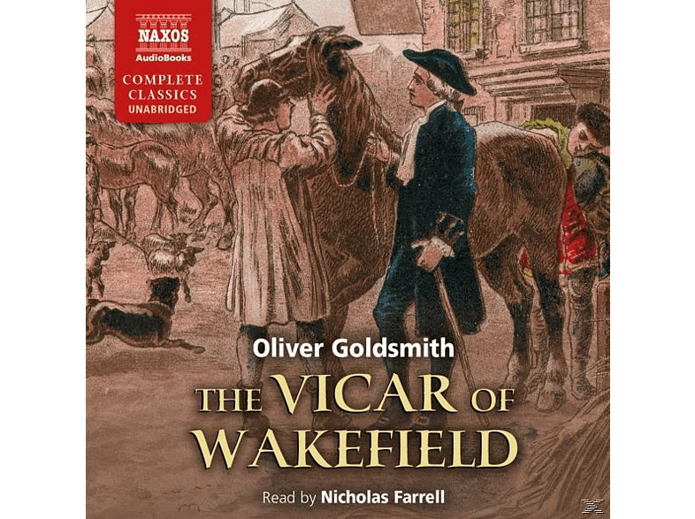 Nicholas Farrell - The Vicar of Wakefield - (CD)
