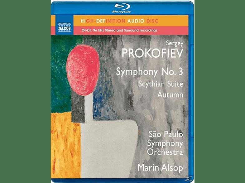 Marin Alsop - Sinfonien 3/Scythian Suite/Autumn [Blu-ray Audio]