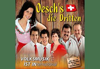 Oesch Die Dritten - Volksmusik ist International  - (CD)