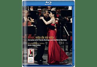 Plácido Domingo, Anna Maria Martinez, Mozarteum-orchester Salzburg - Amor, Vida De Mi Vida  - (DVD)