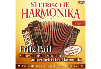 Fritz Pail - Steirische Harmonika, Fritz Pail - Seine Schönsten Stückeln  - (CD)