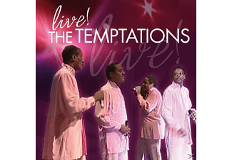 The Temptations - Live! - (CD)