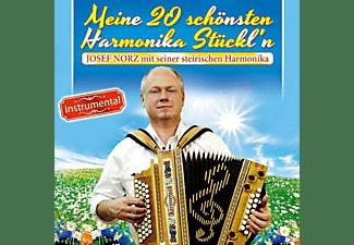 Josef Norz Mit Seiner Steirischen Harmonika - Meine 20 schönsten Harmonika Stückl'n Instrumental  - (CD)