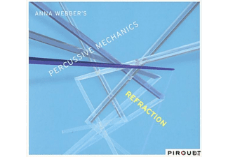 Anna Weber, Percussive Mechanics - Refraction  - (CD)