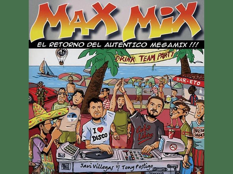 VARIOUS - Max Mix - El Retorno Del Autentico Megamix !!! [CD]