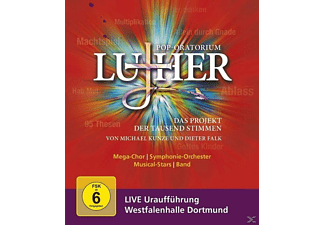 Michael Kunze Dieter Falk - Pop-Oratorium Luther - (Blu-ray)