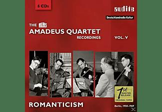 Amadeus Quartett - RIAS RECORDINGS 5-ROMANTICISM/BERLIN,1950-1969  - (CD)