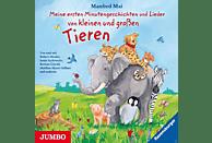 Meine ersten Minutengeschichten und Lieder von kleinen und großen Tieren - (CD)