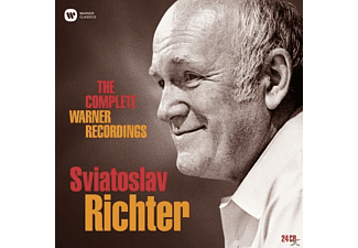 VARIOUS, Richter Svjatoslav - Complete Warner Recordings,The (Lim.Edition)  - (CD)