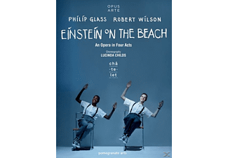 Antoine Silverman, Helga Davis, Kate Moran, The Lucinda Childs Dance Company, Philip Glass Ensemble - Einstein on the Beach  - (DVD)