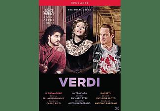 Cura/Fleming/Keenlys - Il Trovatore/La Traviata/Macbeth  - (DVD)
