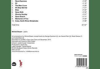 Michiel Braam - GLOOMY SUNDAY  - (CD)