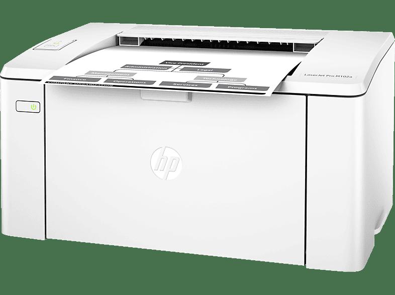 HP LaserJet Pro M102a Laserdruck Laserdrucker (s/w)