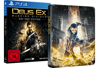Deus Ex - Mankind Divided (Day One Edition inkl. Steelbook) - [PlayStation 4]