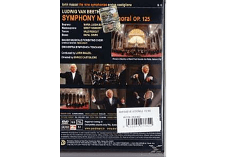 Lorin & Orchestra Symphonica Toscanini Maazel - Sinfonie 9 Chorale  - (DVD)