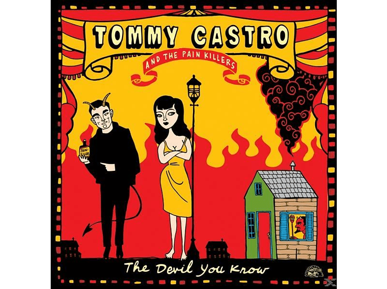 Tommy Castro, Painkillers - The Devil You Know (180gr Lp) [Vinyl]