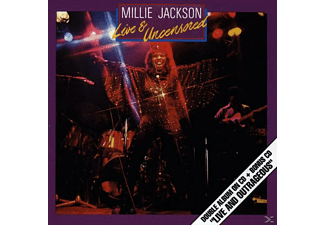 Millie Jackson - Live And Uncensored/Live And Outrageous  - (CD)