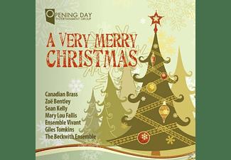 Canadian Brass/Bentley/Kelly/Ensemble VI - A Very Merry Christmas  - (CD)