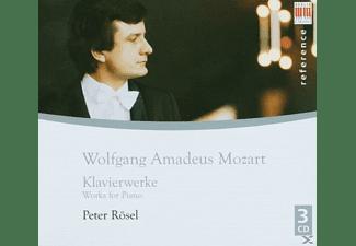 Peter Rösel - Rösel:Mozart-Klavierwerke  - (CD)
