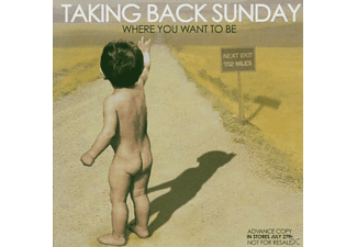 Taking Back Sunday - Where You Want To Be  - (CD)
