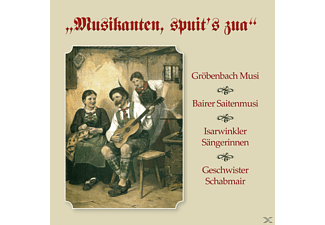 Gröbenbach/Bairer/Isarwinkler/Schabmair - Musikanten, Spuit's Zua  - (CD)