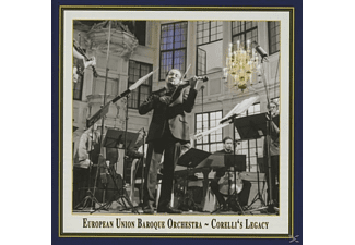 European Union Baroque Orchestra - Corellis Erbe - (CD)